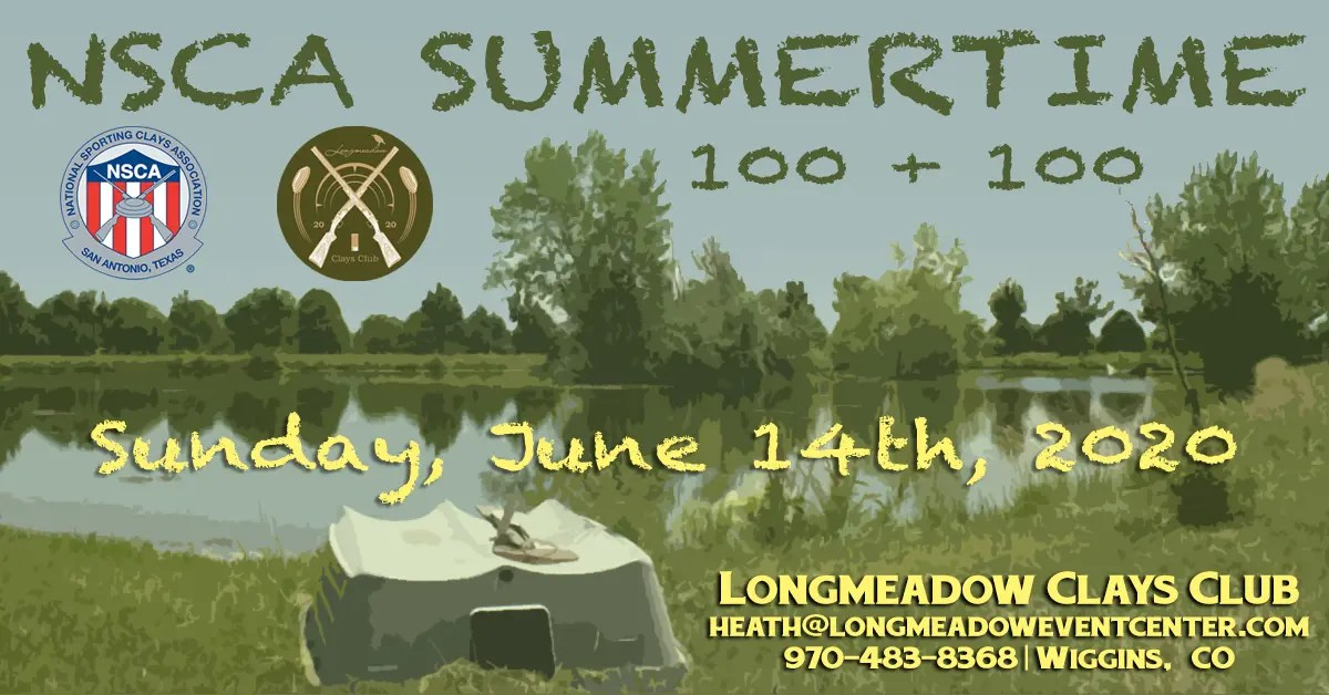 NSCA Summer Time 100 + 100 Event Flyer