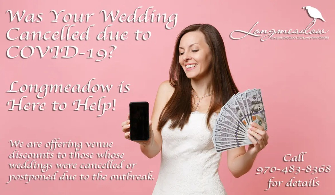Wedding Cancellation Assitance from Longmeadow Colorado Sporting Clays Course, Game Resort, And Event Center