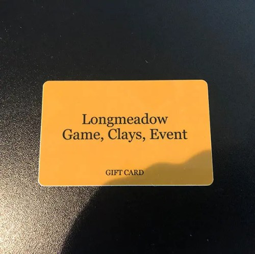 Longmeadow Gift Card
