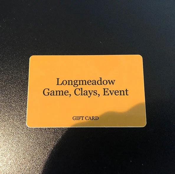 Longmeadow Gift Card