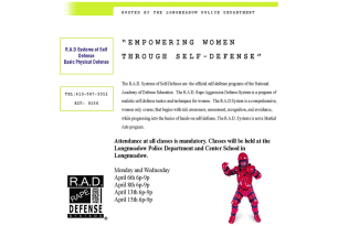 RAD Course to be held in April