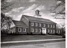 The new public safety complex that housed Police/Fire/DPW in 1959