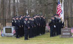 Officer Mendrala's Funeral