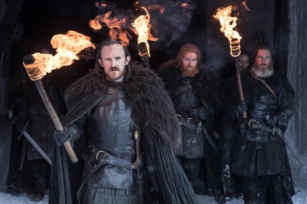 Brandon Stark arrives at the Wall