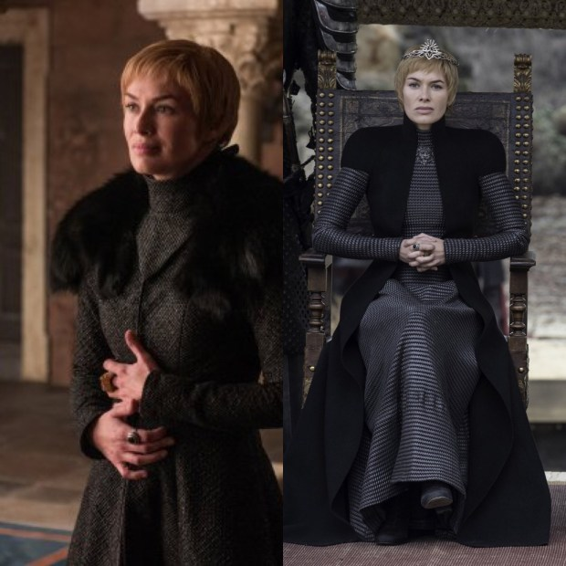 Cersei Lannister costumes