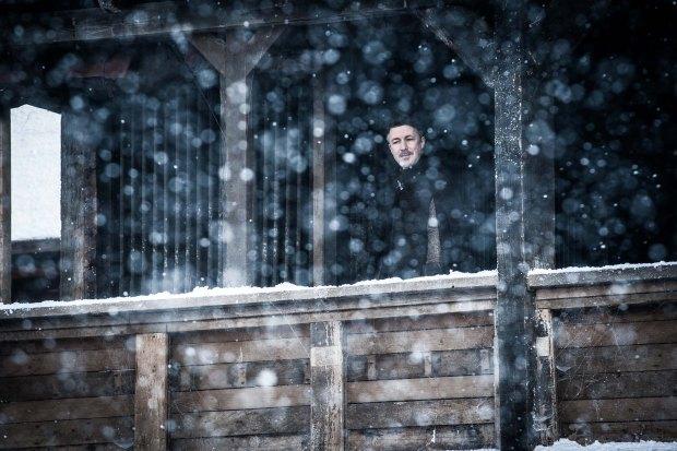Littlefinger in Winterfell in Game of Thrones Season 7 Episode 4