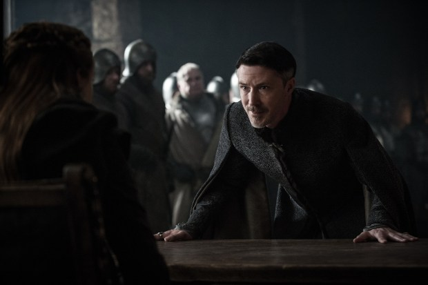 Littlefinger death scene