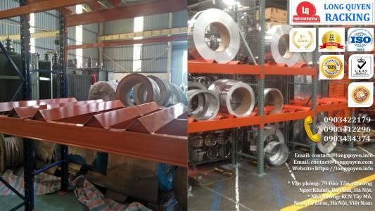 Kệ Phụ Tùng Thiết Bị Điện lắp tại công ty Biến Thế Hà Nội (5)