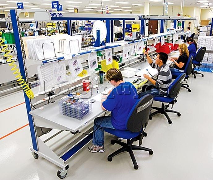 Bàn sản xuất bàn lắp ráp bàn công nghiệp (3)