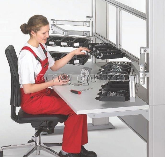 Bàn sản xuất bàn lắp ráp bàn công nghiệp (6)