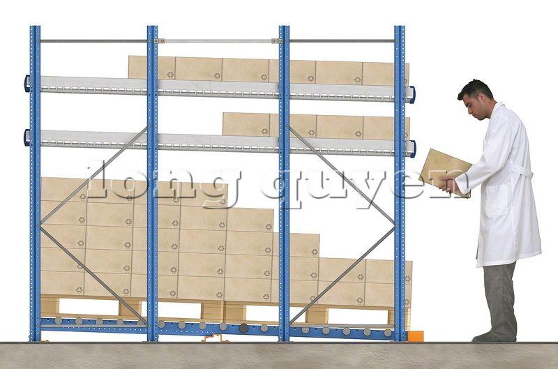 Thiết kế giá kệ trôi tích hợp để pallet (8)