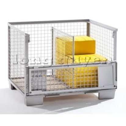 Pallet lưới thép xếp chồng (Mesh Pallet)