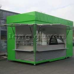 Nhà lắp ghép bán hàng di động KIOSK bán hàng