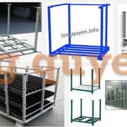 Pallet sắt xếp chồng pallet kim loại thùng hộp đóng mở giới thiệu chung