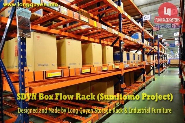 giá kệ trôi box flow rack 1a