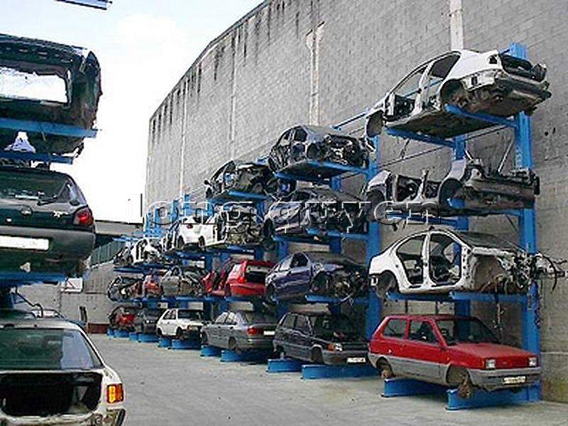 Giá kệ Cantilever lưu trữ ô tô cũ trong các kho bãi (6)