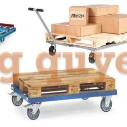 Xe kéo đẩy pallet dollies xe đẩy chở hàng công nghiệp