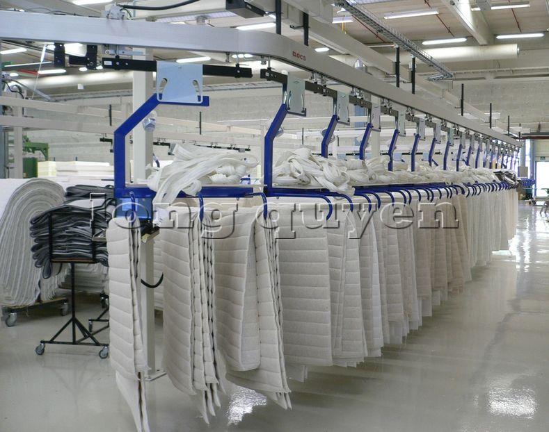 Băng chuyền treo dây băng tải công nghiệp treo cao (1)