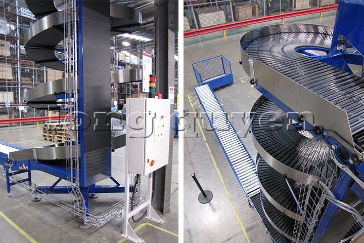 Băng tải băng chuyền con lăn công nghiệp vận thăng xoắn ốc (7)