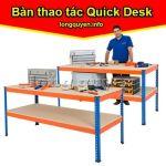 Bàn công nghiệp bàn khung đột lỗ lắp ráp Quick Desk