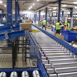Băng tải công nghiệp băng tải phân làn Sortation Systems