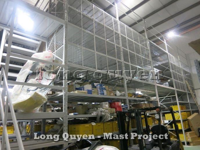 Giá Kệ Vật Tư Kho Tầng Lửng Công ty MAST 2