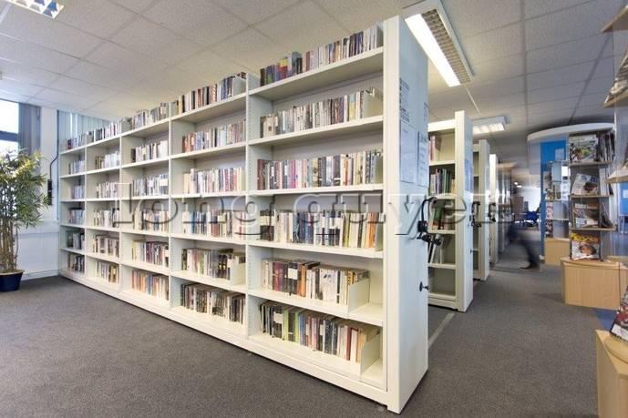 Giá kệ thư viện di động gia kệ chạy trên ray (1)
