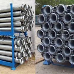 Giá kệ chứa hàng kho vật tư vật liệu sắt hình sắt ống dài