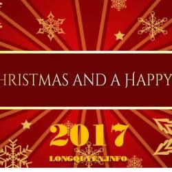 MERRY CHRISTMAS & HAPPY NEW YEAR 2017