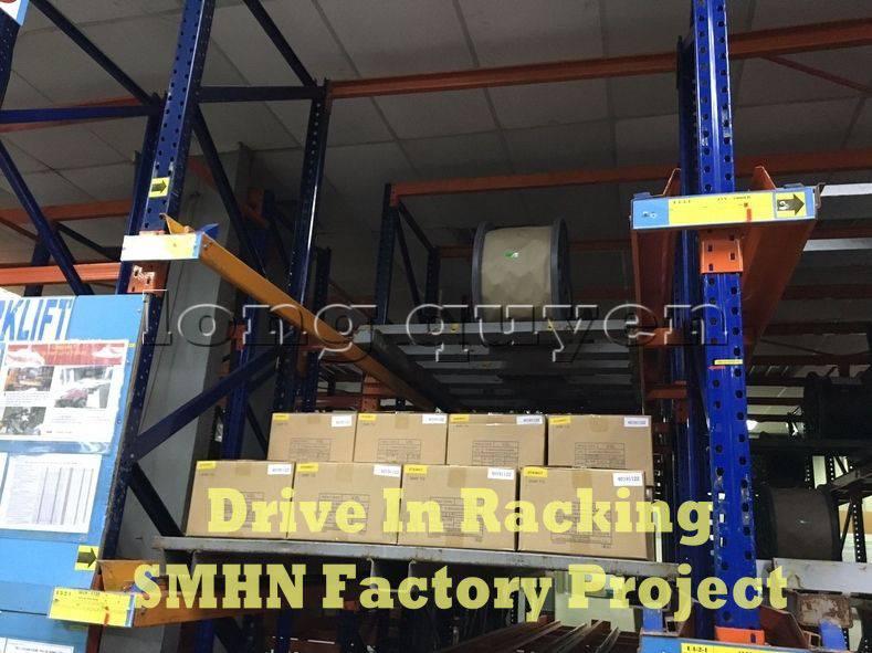 Giá kệ Drive In chứa pallet để cuộn dây nhà máy SMHN (8)
