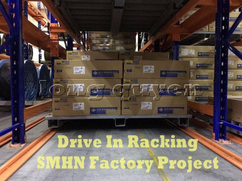 Giá kệ Drive In chứa pallet để cuộn dây nhà máy SMHN (9)