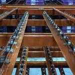 Giá kệ trôi kệ dòng chảy để vật tư trong xưởng lắp ráp nhà máy SMHN
