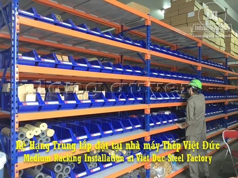 Gia ke hang trung lap dat tai nha may thep Viet Duc (5)