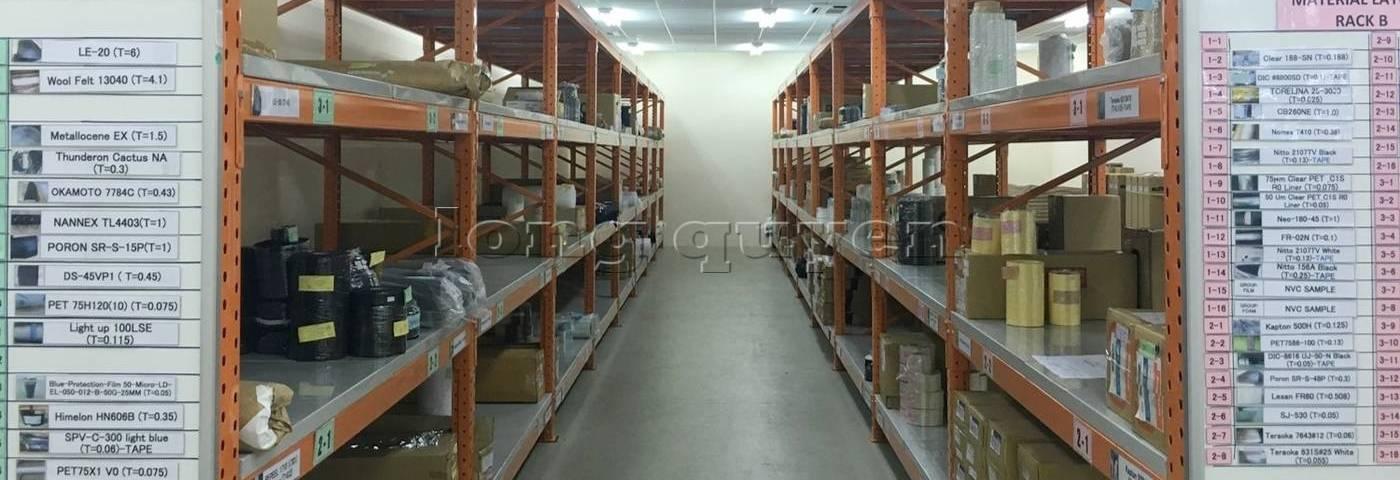 Giá kệ trung tải giá kệ hạng trung lắp ráp tại nhà máy Kansai Felt (11)