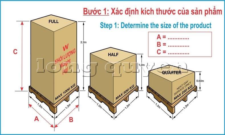 Hướng dẫn các bước tự thiết kế giá kệ chứa pallet trong kho hàng (1)