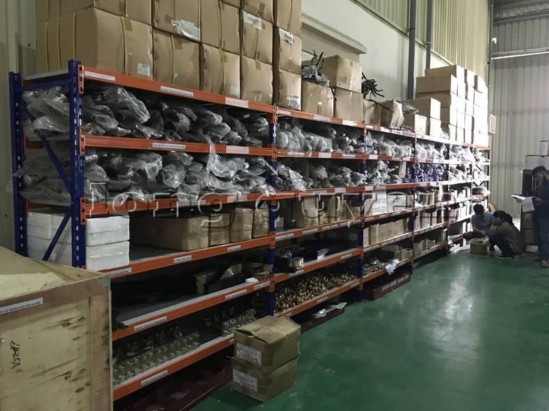 Kệ sắt kệ để hàng kệ kho hàng lắp đặt tại nhà máy thiết bị điện Sanaky (16)