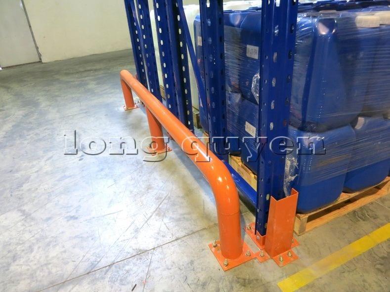 Kệ sắt kệ chứa pallet lưu trữ loại 3 thanh beam một tầng kho hàng công ty ALS (11)