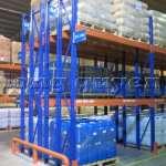 Kệ sắt kệ chứa pallet lưu trữ loại 3 thanh beam một tầng kho hàng công ty ALS