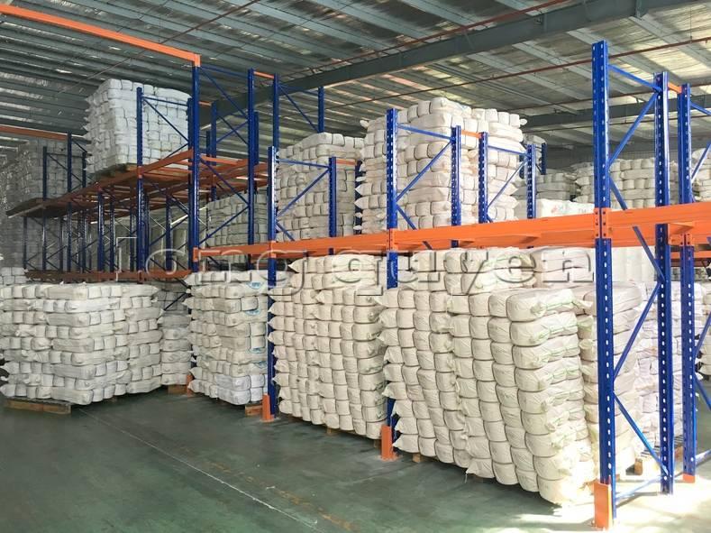 Giá kệ sắt kệ để hàng kệ pallet lắp đặt tại công ty Yulun (3)