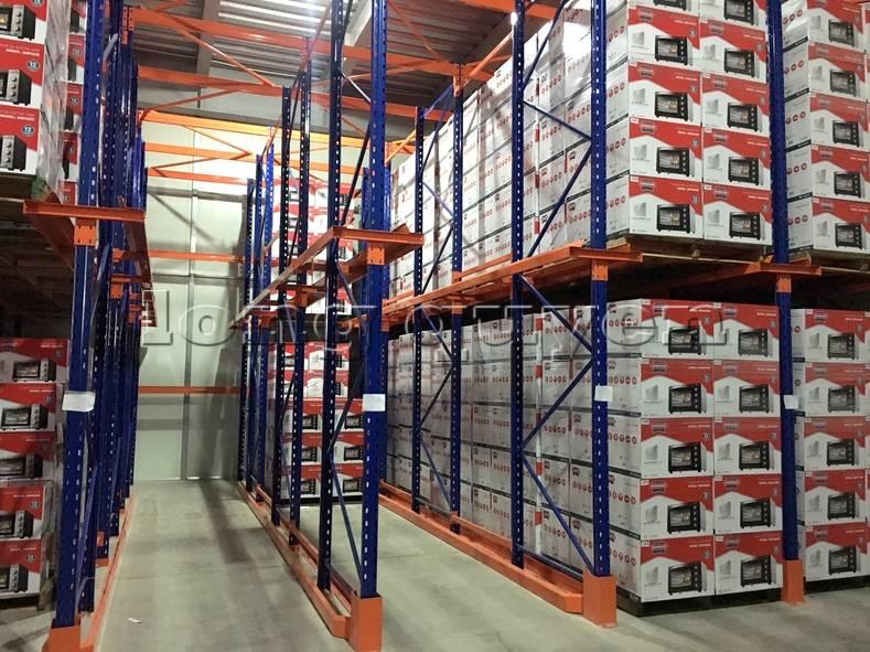 Giá kệ để hàng kệ chứa hàng Drive-in kho hàng công ty Sunhouse (6)
