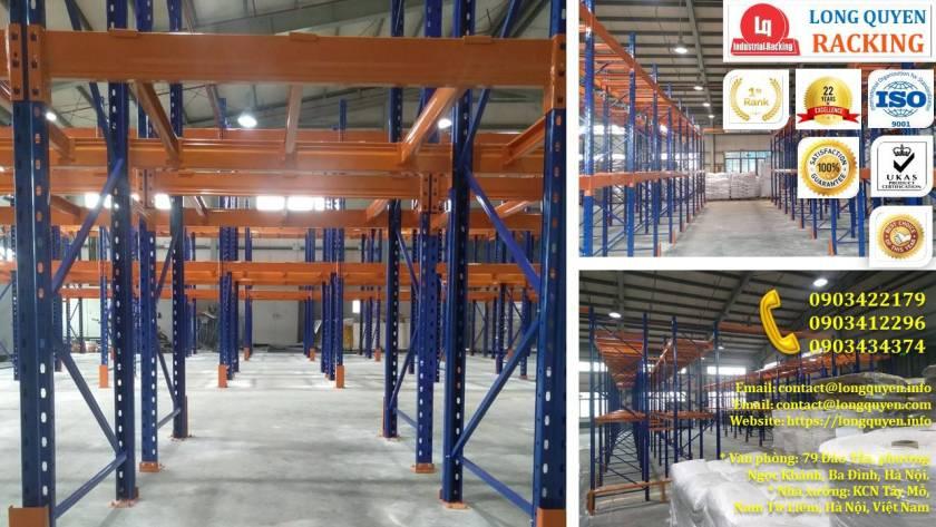Kệ chứa hàng Selective tại kho hàng công ty Cadivi Bắc Ninh (8)