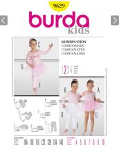 zestaw wykrojów dziecięcych do kupienia na http://www.burda.pl/sklep/dzieci.html
