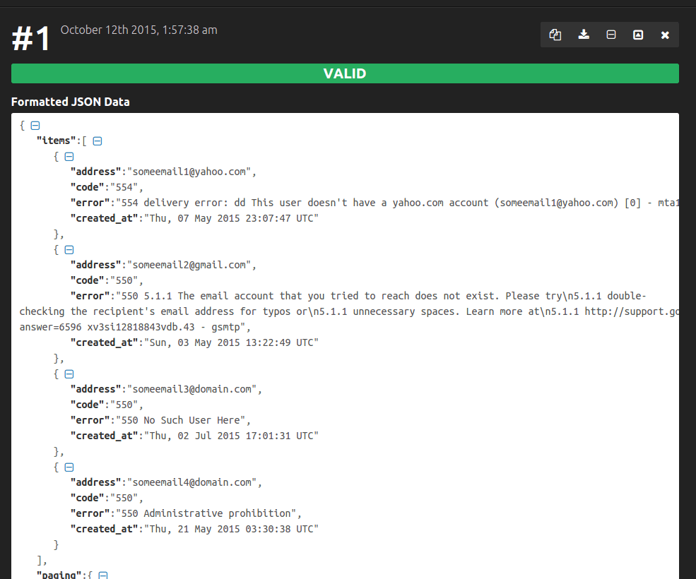 You Can Find Your Mailgun API Key On The Dashboard Under Keys Will Return JSON Which Is A Bit Difficult To Read In