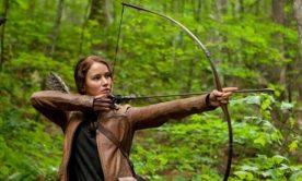 Katniss as a Hunter