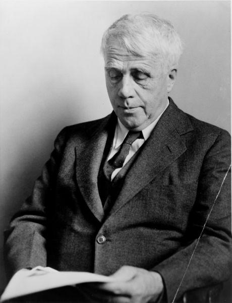 """""""Robert Frost"""" taken by Fred Palumbo in 1941 (Wikimedia Commons)"""