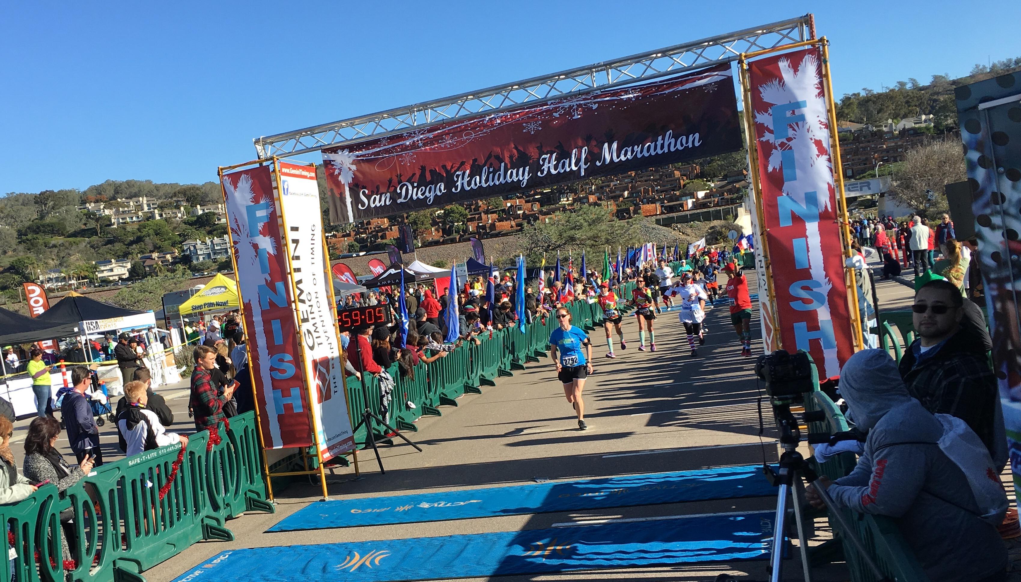 San Diego Holiday Half Marathon