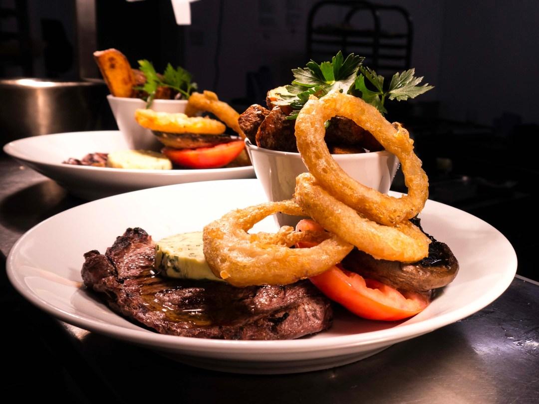 Steak at Longstone House Hotel Restaurant
