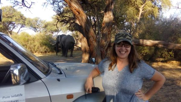 A three-day camping safari was a trip of a lifetime. Vanessa isn't too sure about the other campsite occupants.