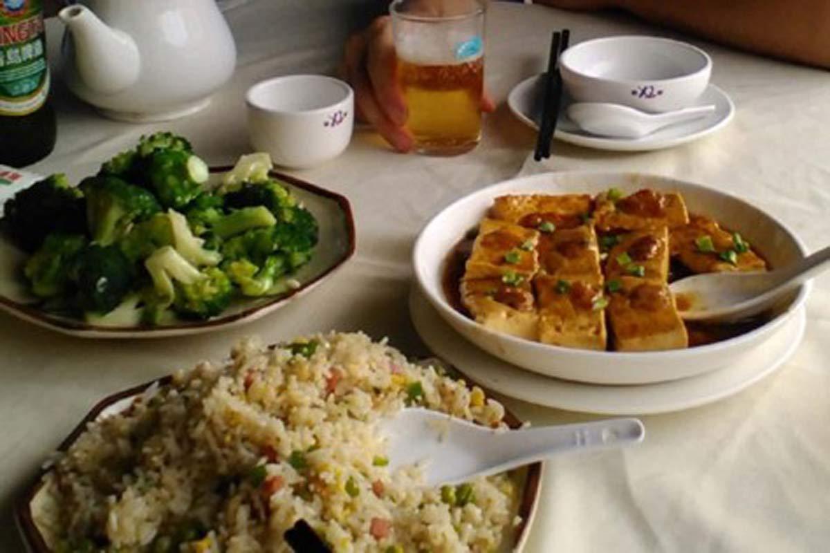 Lunch at Dameisha
