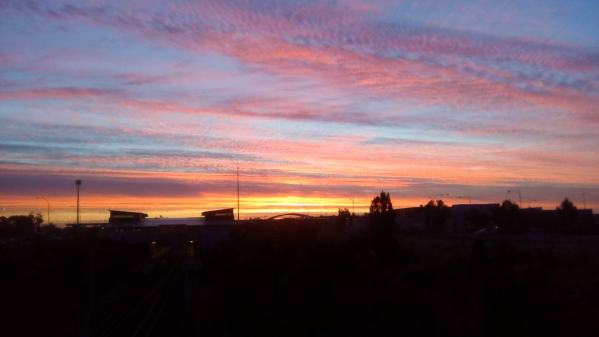 Sunset over Wellard. This was my (Ian) home suburb from 2006 to 2008, and it was great to be back again